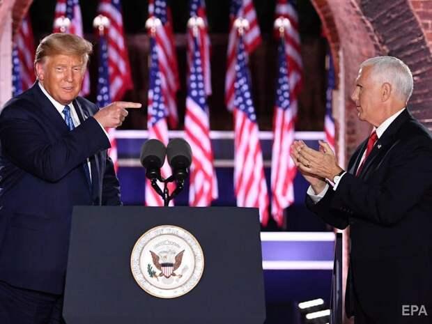 Пенс согласился снова стать вице-президентом США в случае победы Трампа