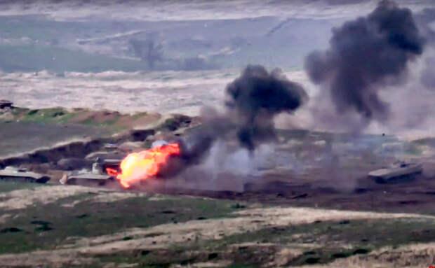 Минобороны Армении заявило о гибели около 200 военных Азербайджана