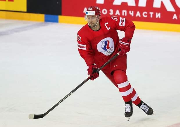 Слепышев признан лучшим игроком матча Россия — Швеция