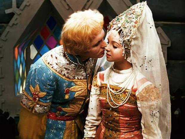 Эдуард Изотов и Наталья Седых в фильме «Морозко». Кадр из фильма «Морозко»