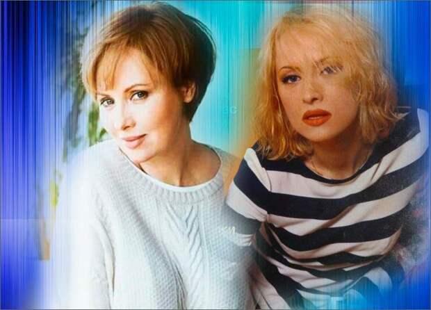 Коллаж автора - Елена Ксенофонтова 2020 год и 1998 год