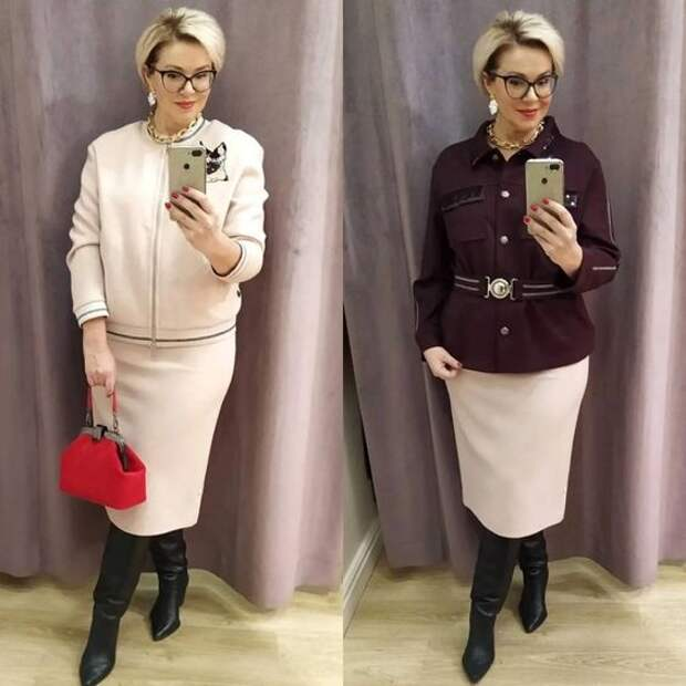 Что выберите вы? Битва образов: брюки или юбка на каждый день для женщины 50+