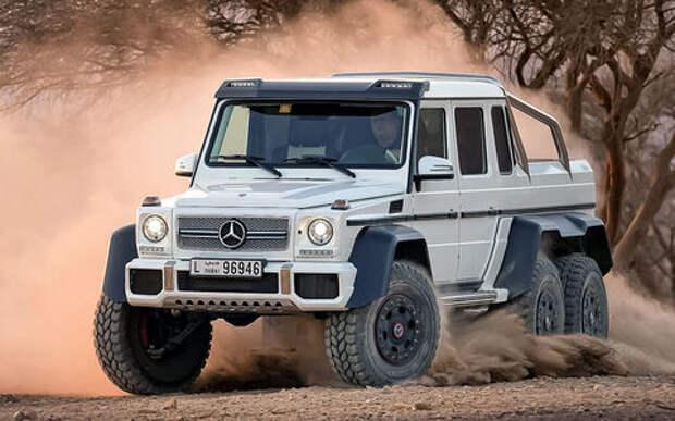 Легендваген: самые крутые версии Mercedes-Benz G-класса