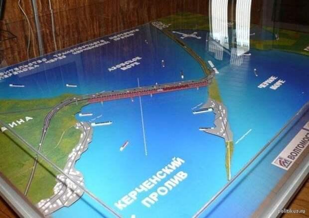 Китайская компания CCCC готова строить мост через Керченский пролив за рубли