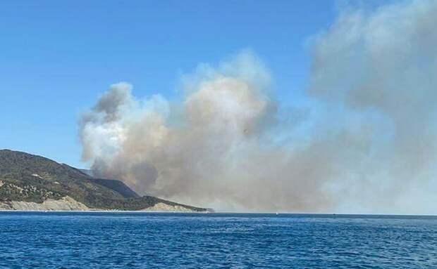 На Кубани объявили пятый класс пожароопасности