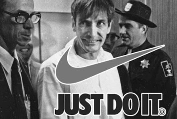 Как приговоренный к смертной казни помог придумать легендарный слоган Nike