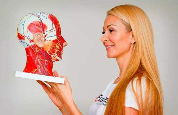 7 простых упражнений, которые уберут морщины с лица — методика Елены Каркукли