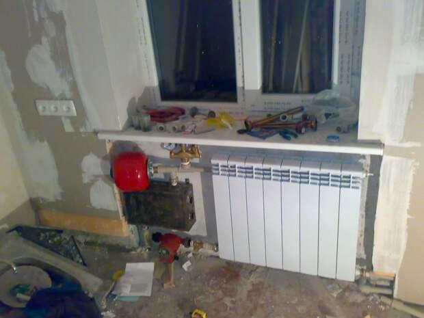 Самодельный электрический котел с радиатором