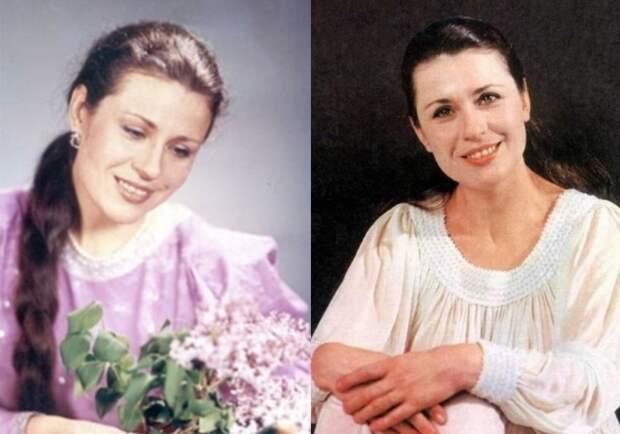Легенда советской эстрады Валентина Толкунова | Фото: martu.ru и kino-teatr.ru