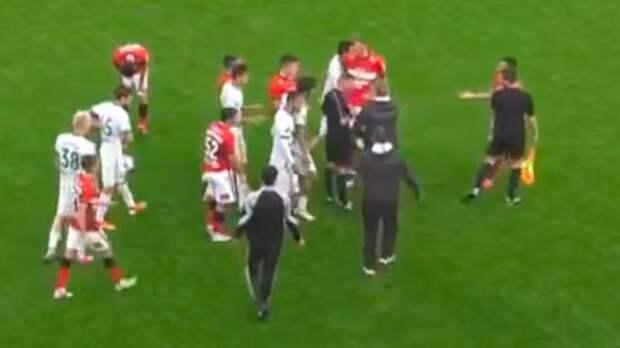 Представитель «Ахмата» напал на судью после матча молодежного первенства со «Спартаком»