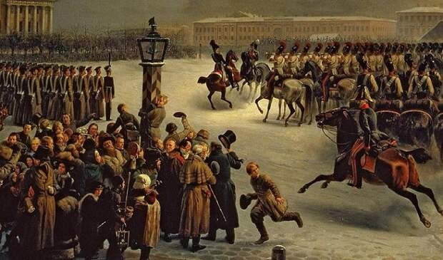 Восстание декабристов: сколько погибло мирных жителей Санкт-Петербурга