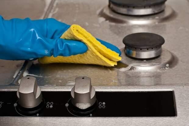 Средство для очистки плиты