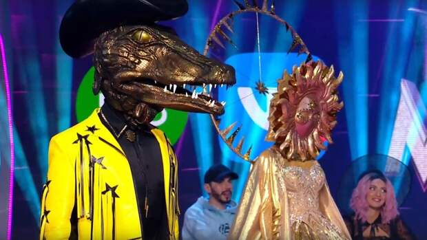"Участник шоу ""Маска"" в костюме Крокодила похудел на 5 кг с начала проекта"