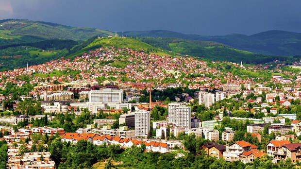 Вид города Сараево, Босния и Герцеговина - РИА Новости, 1920, 29.09.2020
