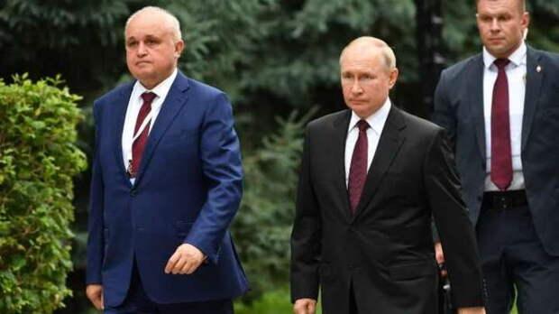 Президент Владимир Путин оценил ход строительства кластера искусств в Кемерове