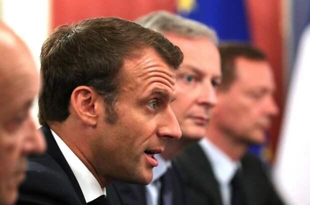 Макрон приветствовал проведение саммита Россия — США