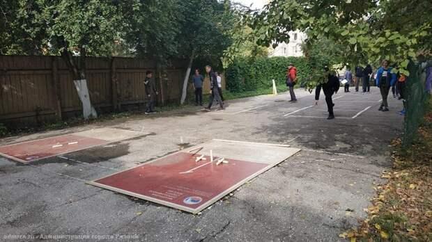 В Рязани прошёл турнир по игре в «городки» памяти И.П. Павлова