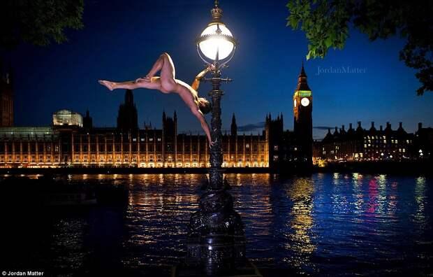 Ню в большом городе: танцоры и балерины разделись для уникального фотопроекта