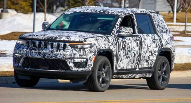 Jeep Grand Cherokee 4xe застали на испытаниях в Колорадо