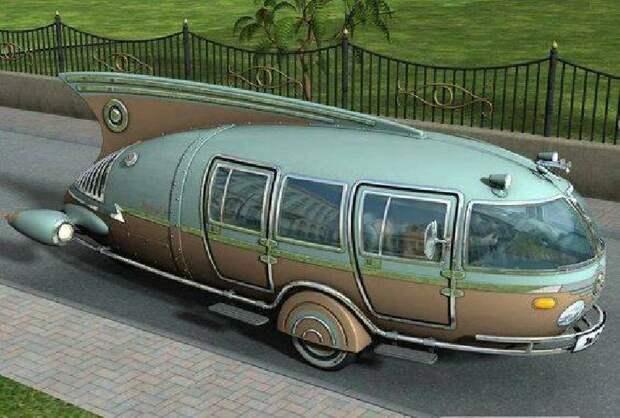 Dymaxion car, R. Buckminster Fuller авто, автомир, интересное, монстры, странные