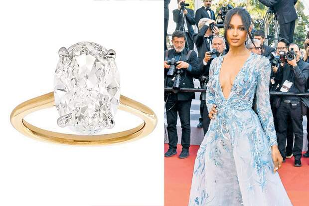 Жасмин Тукс обручальное кольцо