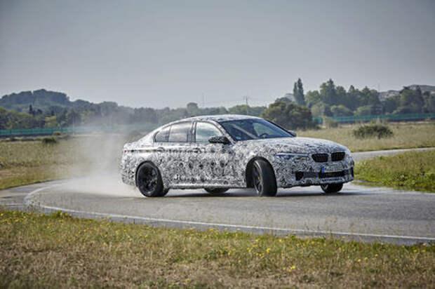 BMW объявила дату премьеры нового M5