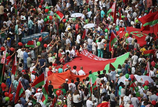 Протесты идут на спад? Численность последних акций в Белоруссии