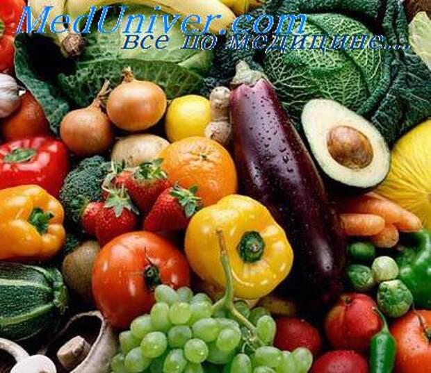 вред овощей и фруктов