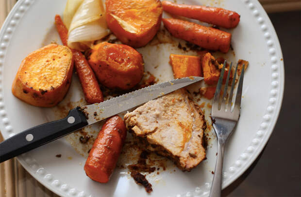 Готовим потрясающую свинину целым куском