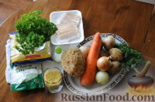 Фото приготовления рецепта: Кулеш украинский - шаг №1