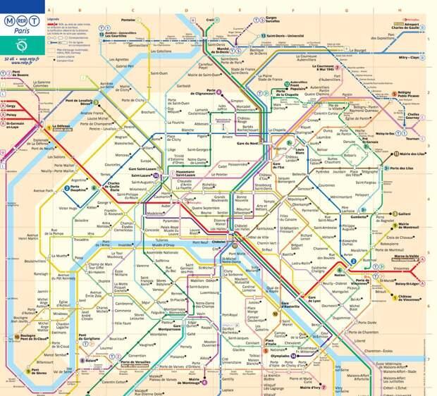 15 самых сложных схем метрополитена на этой планете