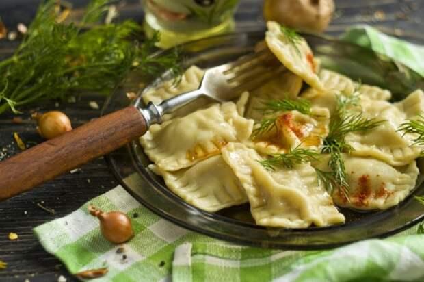 Равиоли со свининой. \ Фото: botanichka.ru.
