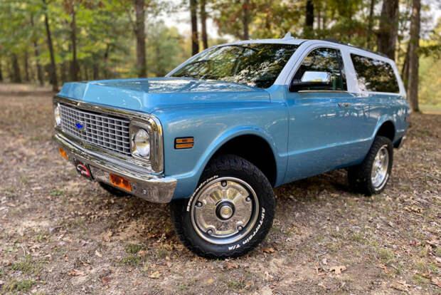 Построен Chevrolet K5 Tahoe с трехдверным кузовом