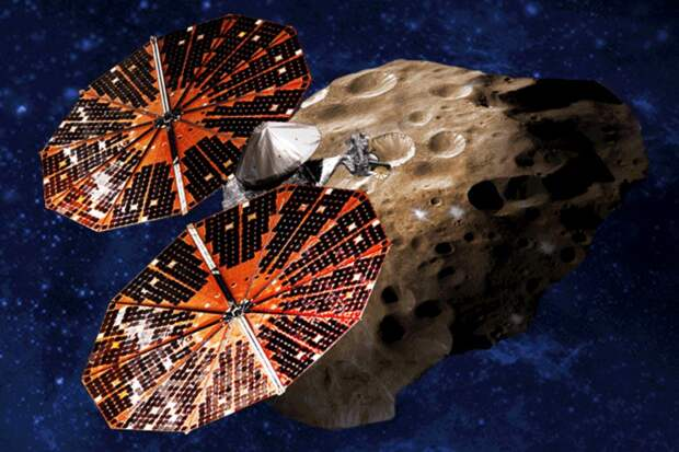 """NASA начало сборку космической станции """"Люси"""", которая будет исследовать астероиды Юпитера"""