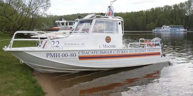 Водолазы в Москве-реке обнаружили утонувшего мужчину