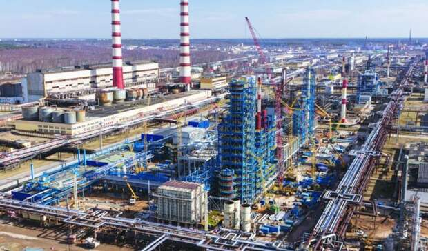 Опробование оборудования попроизводству серы началось на«Нафтане»