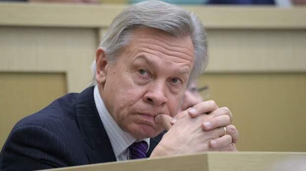 Сенатор Алексей Пушков высказался об инциденте с вечеринкой немецких солдат в Литве