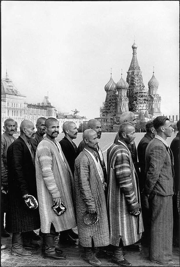 Cartier Bresson19 25 кадров Анри Картье Брессона о советской жизни в 1954 году