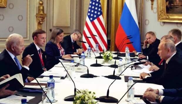 Пресс-конференции Путина и Байдена по итогам переговоров