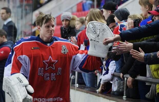 Вратарь ЦСКА Ларс Юханссон подписал контракт со СКА