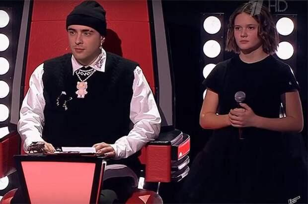 Дочь певца Сергея Трофимова вышла в финал шоу «Голос. Дети»