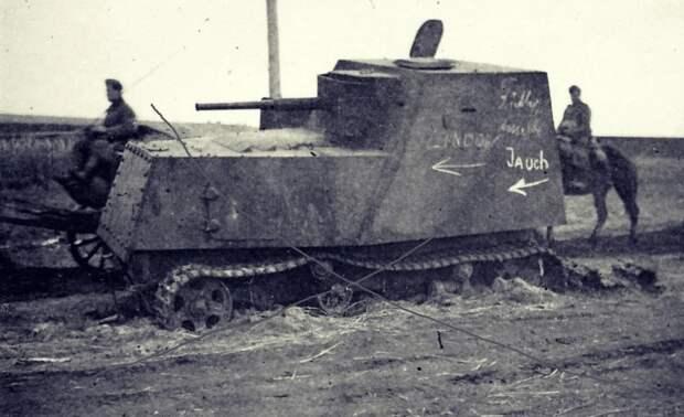 Как советский трактор обратил в бегство армию Румынии