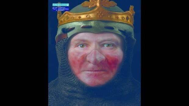 Восстановлено лицо короля Шотландии Роберта Брюса.
