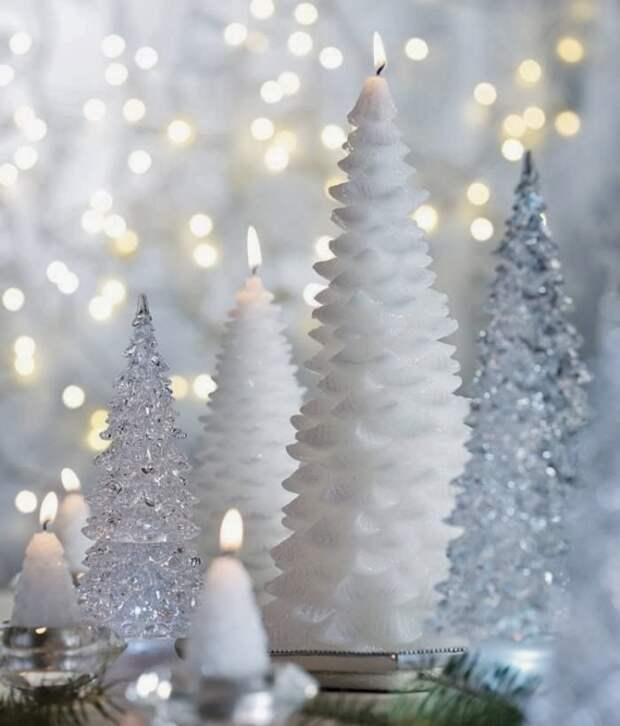 Любая свеча в Новый год, как дорогой гость, заслуживает особого внимания