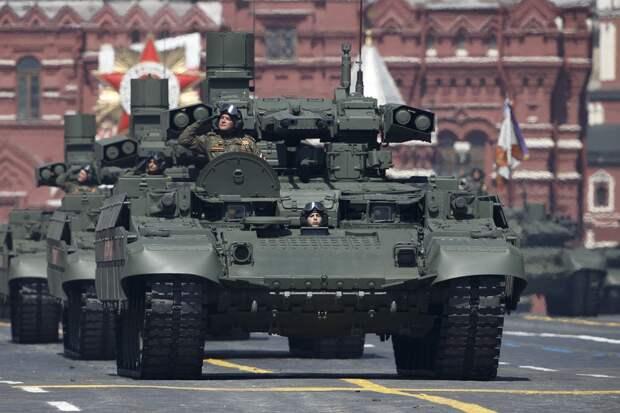 ВСШАназвали лучшие образцы вооружений напараде Победы вМоскве