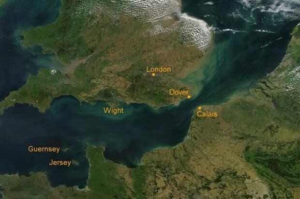 Британия направит корабли к острову Джерси из-за спора с Францией