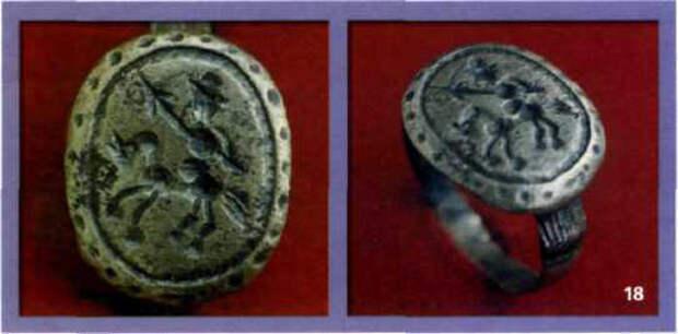 древнерусские перстни