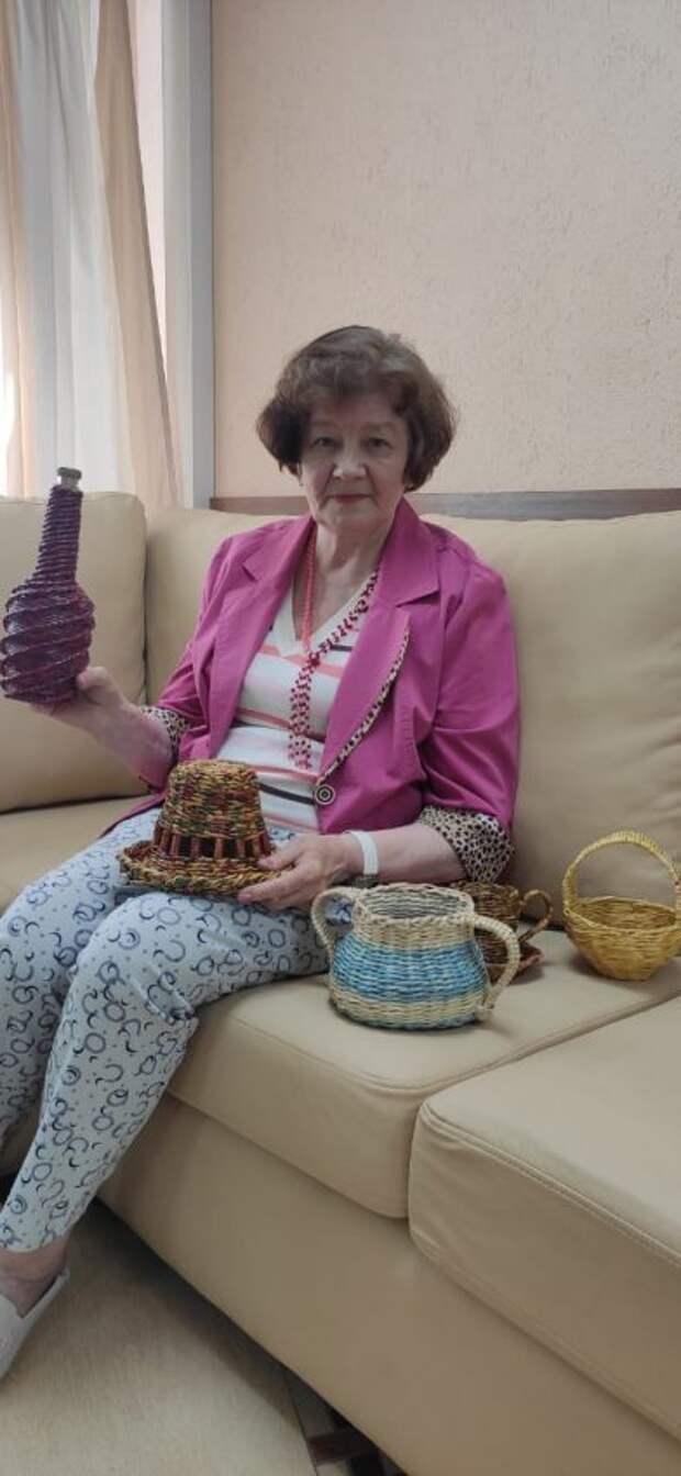 Пенсионерка стала лидером клуба мастериц в Бескудникове