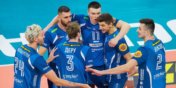 Московское «Динамо» обладатель Кубка России по волейболу