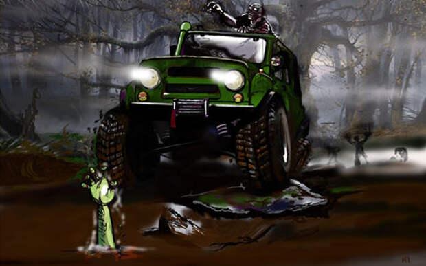 Halloween: подбираем автомобиль для зомби-апокалипсиса